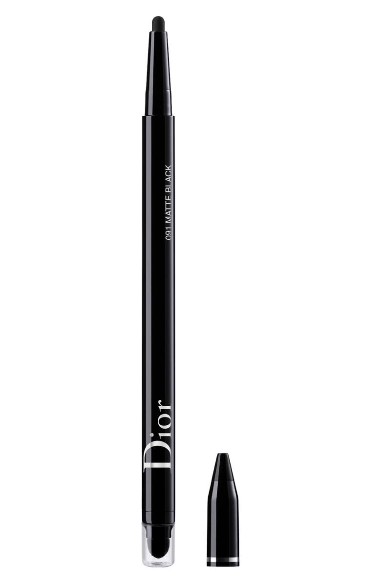 DIOR show 24-Hour Stylo Eyeliner, Main, color, 001