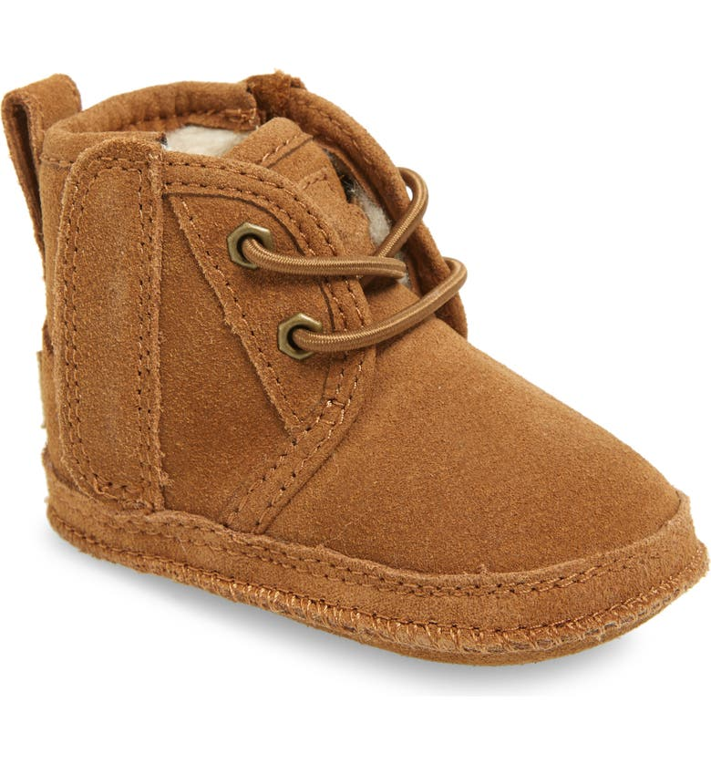 UGG<SUP>®</SUP> Baby Neumel Boot, Main, color, CHESTNUT