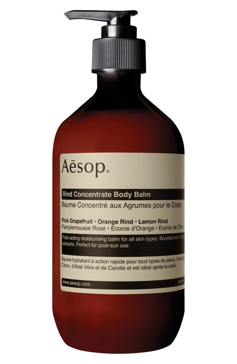 AESOP Rind Concentrate Body Balm, Main, color, PUMP