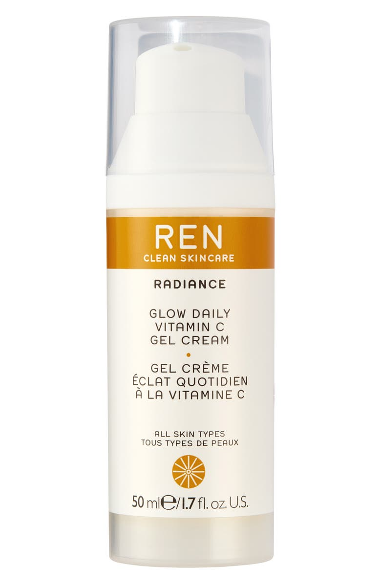 REN CLEAN SKINCARE REN Glow Daily Vitamin C Gel Cream Moisturizer, Main, color, NO COLOR