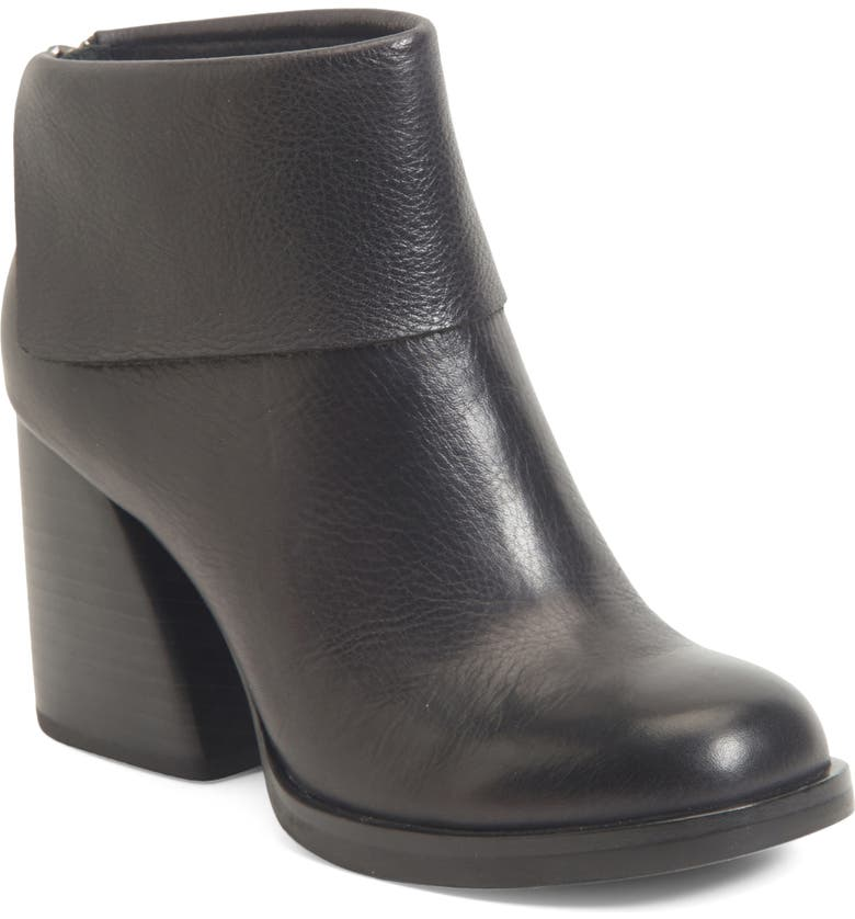 KORK-EASE<SUP>®</SUP> Seri Bootie, Main, color, BLACK LEATHER