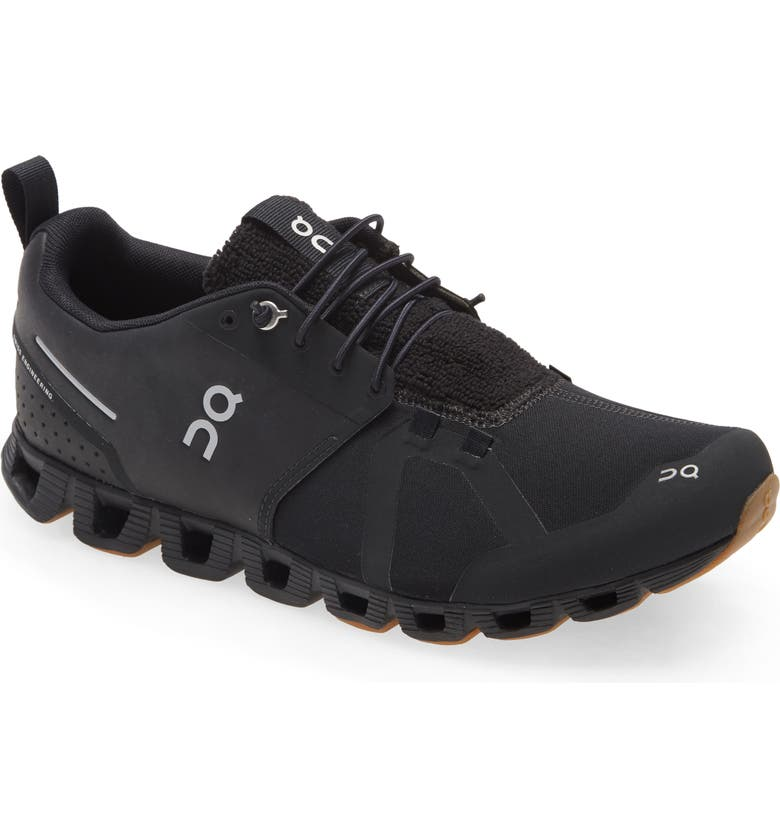 ON Cloudterry Running Shoe, Main, color, BLACK