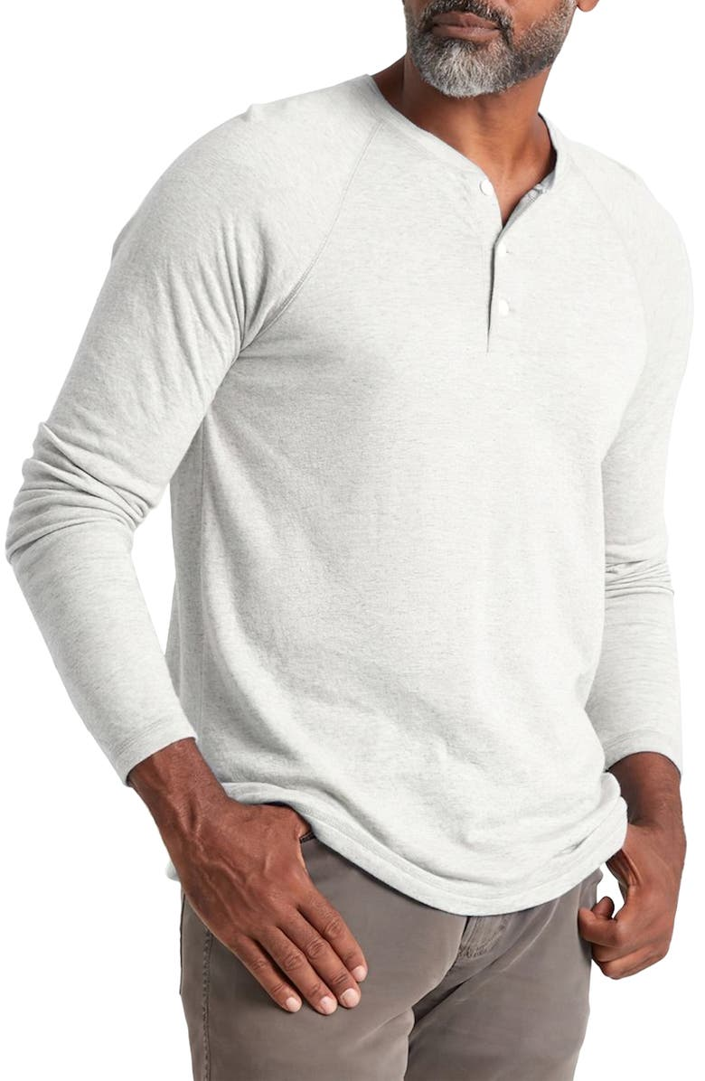FAHERTY Cloud Henley, Main, color, IVORY HEATHER