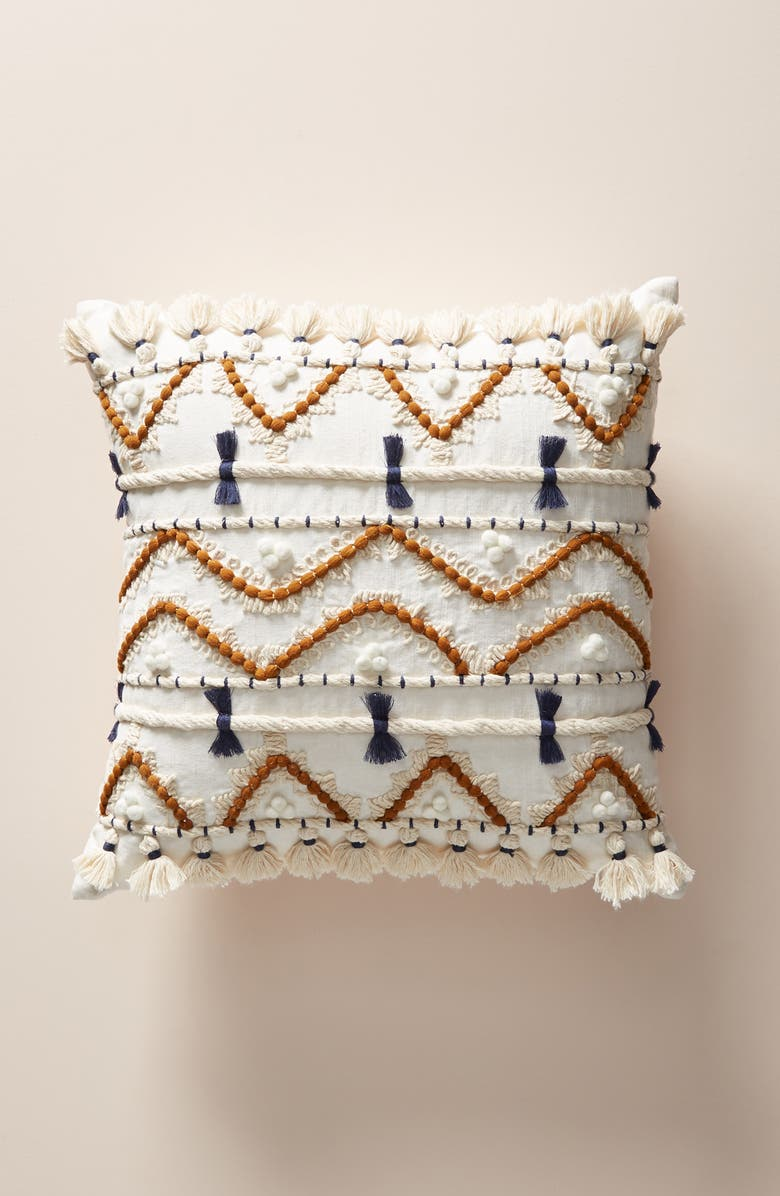 ANTHROPOLOGIE HOME Anthropologie Vineet Bahl Accent Pillow, Main, color, 900
