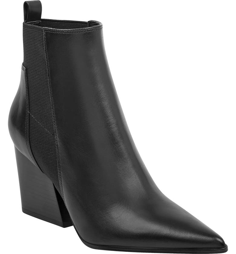 KENDALL + KYLIE Pointy Toe Chelsea Bootie, Main, color, 001