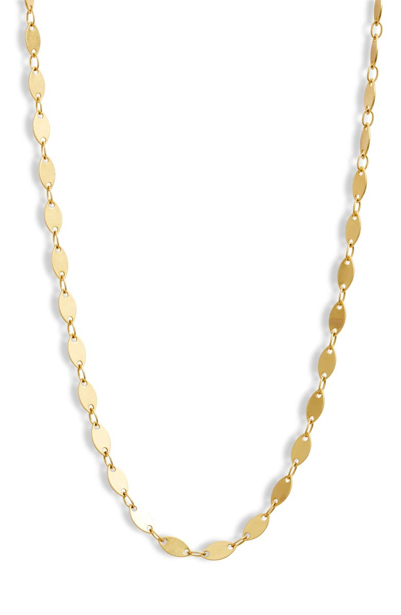 MADEWELL Oval Disc Chain Necklace, Main, color, VINTAGE GOLD