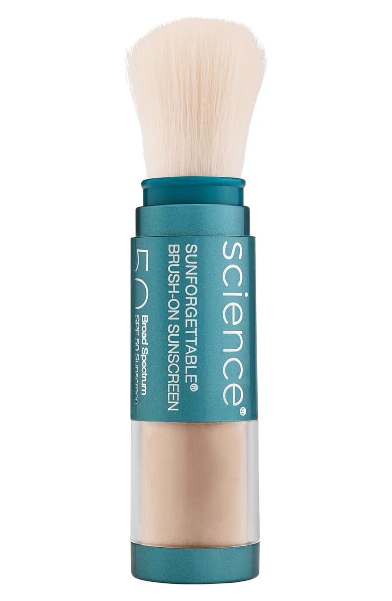 COLORESCIENCE<SUP>®</SUP> Sunforgettable<sup>®</sup> Brush-On Sunscreen SPF 50, Main, color, MEDIUM