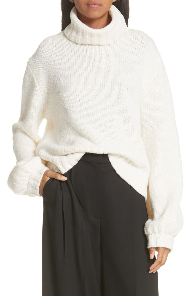 A.L.C. Brinkley Wool & Silk Sweater, Main, color, White