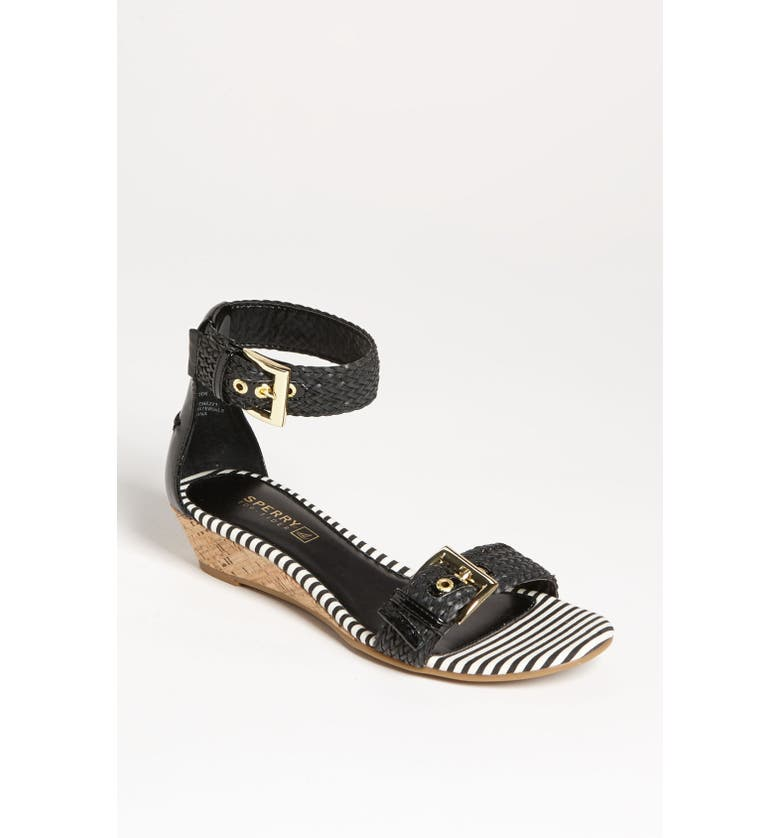 SPERRY Top-Sider<sup>®</sup> 'Lynbrook' Sandal, Main, color, Black