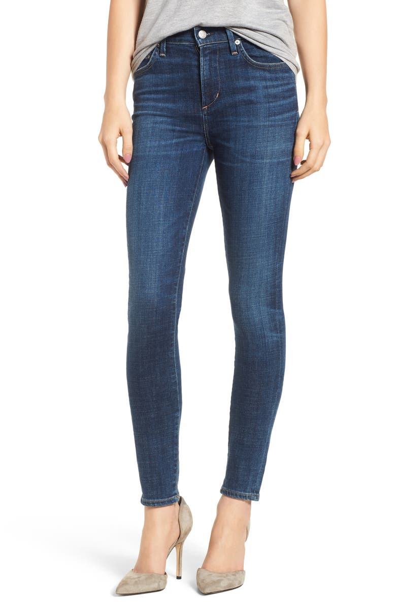 CITIZENS OF HUMANITY Rocket High Waist Skinny Jeans, Main, color, 428