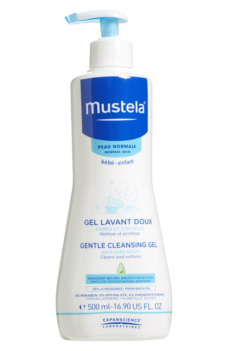 MUSTELA<SUP>®</SUP> Gentle Cleansing Gel, Main, color, WHITE