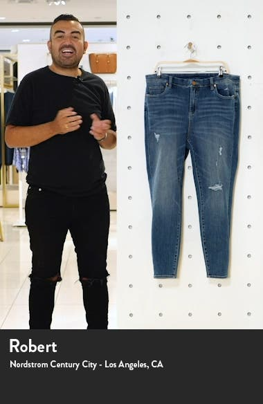 Monday Blues Ripped Skinny Jeans, sales video thumbnail
