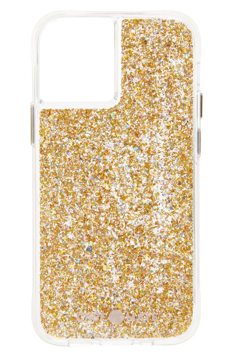 CASE-MATE<SUP>®</SUP> Twinkle iPhone 12 Pro Max & 12 Mini Case, Main, color, GOLD
