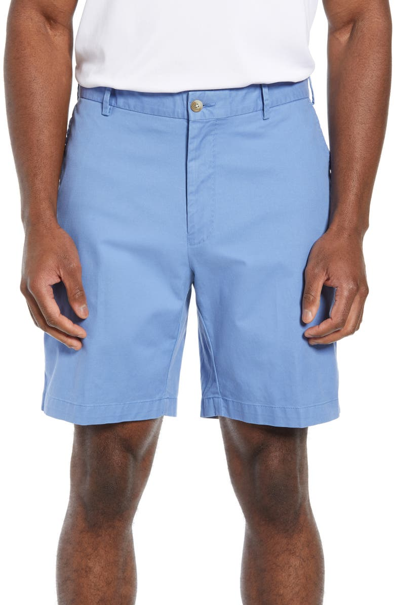 PETER MILLAR Soft Touch Stretch Twill Shorts, Main, color, 450