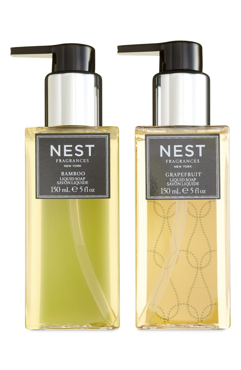 NEST NEW YORK NEST Fragrances Bamboo & Grapefruit Liquid Hand Soap Duo, Main, color, 000