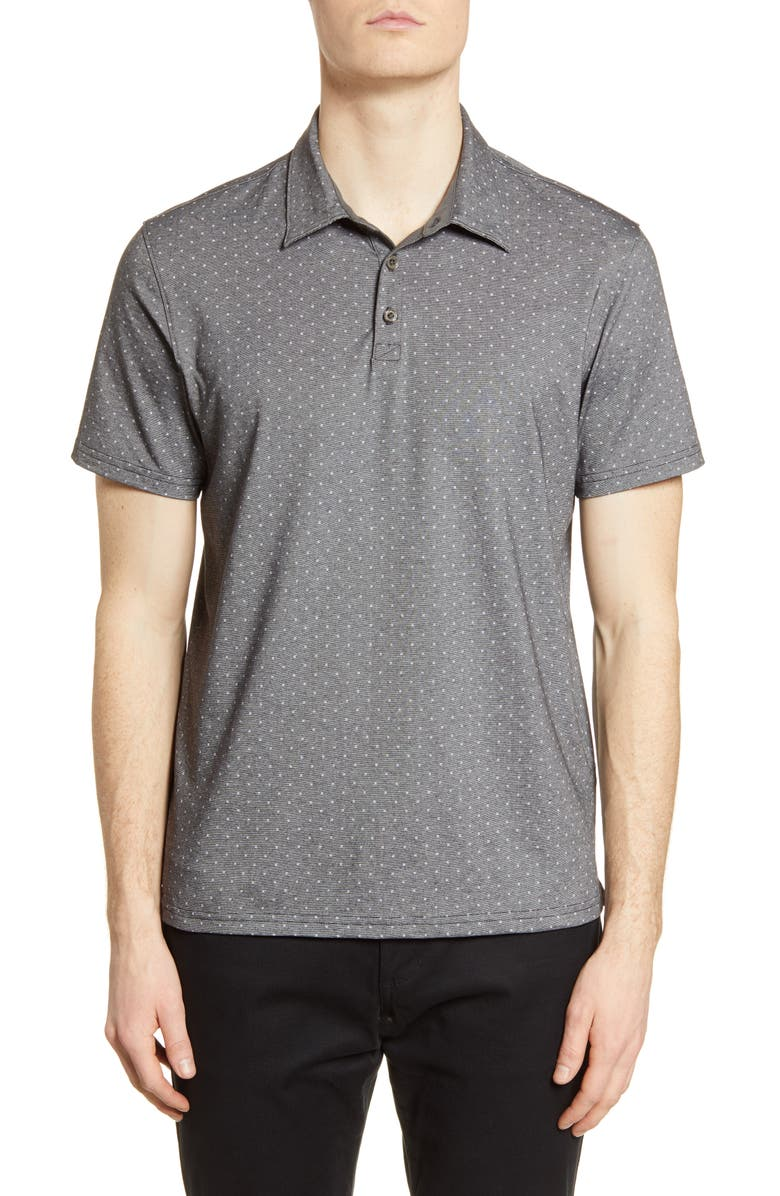 ZACHARY PRELL Bayville Regular Fit Dobby Polo, Main, color, 020