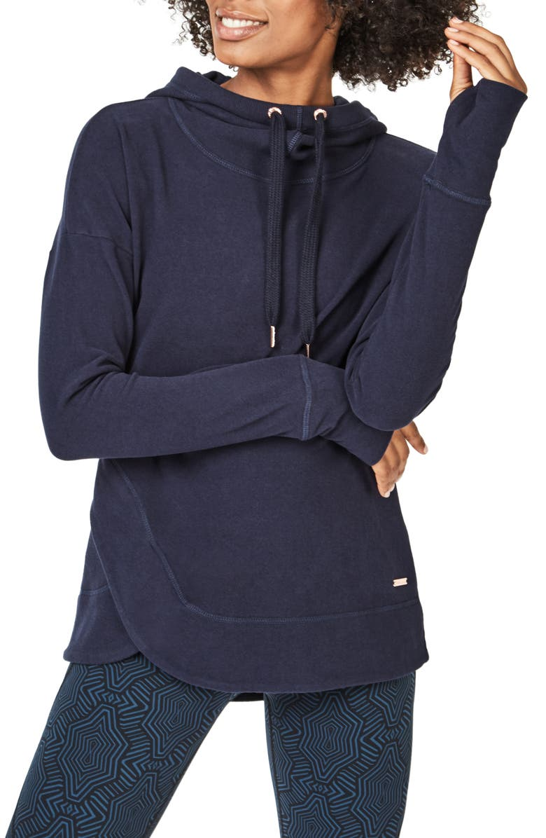 SWEATY BETTY Escape Luxe Hoodie, Main, color, 400