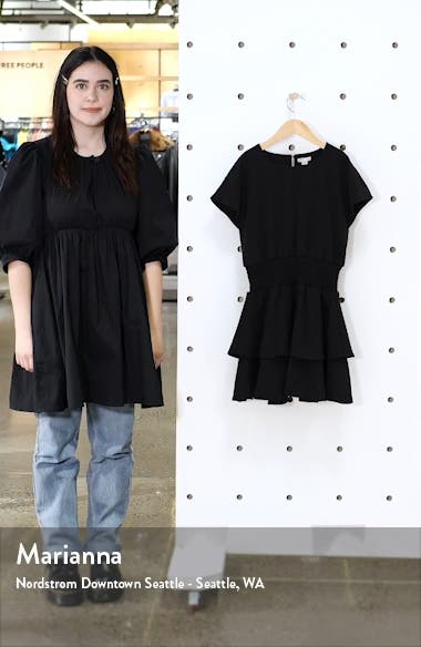 Tiered Crepe Dress, sales video thumbnail