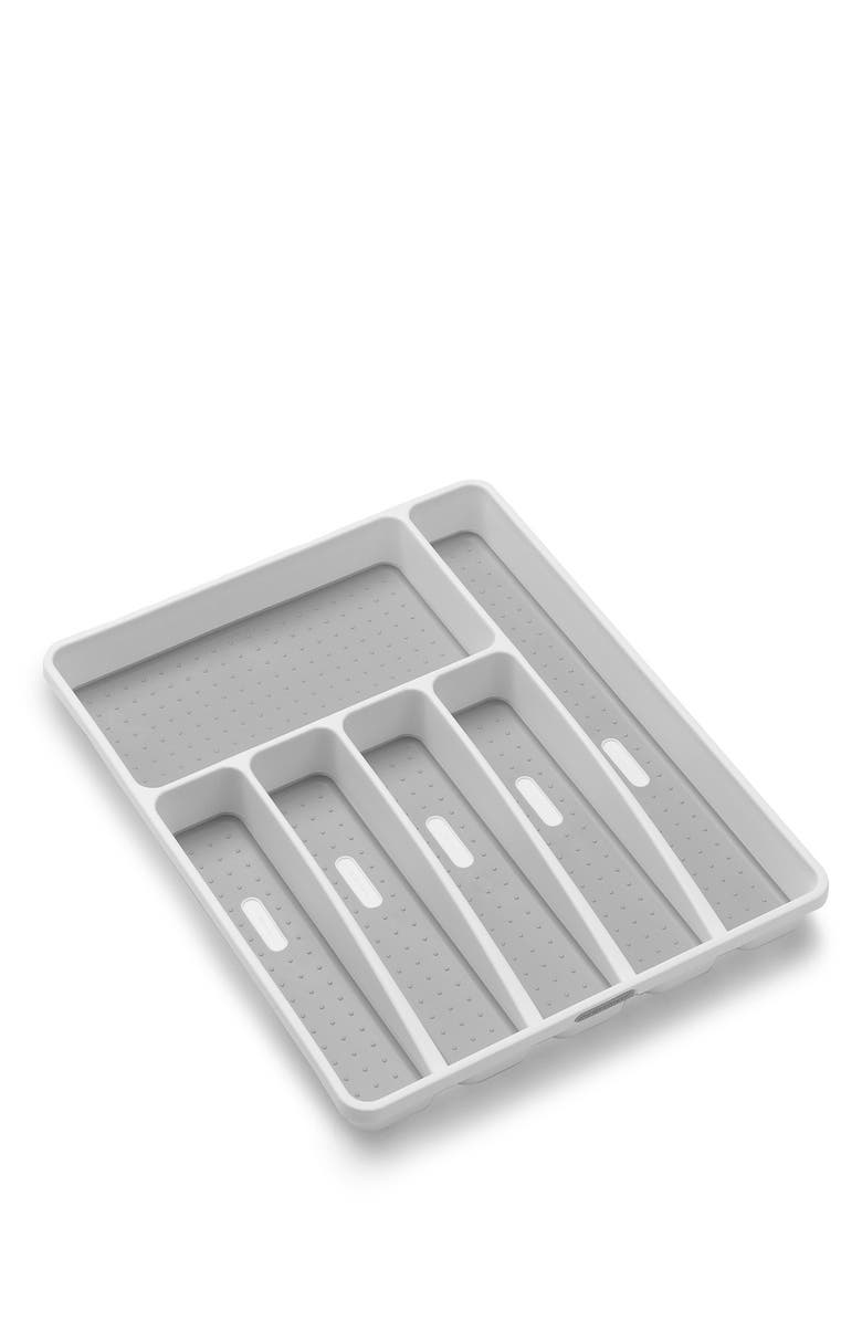 MADESMART Classic Large Silverware Tray, Main, color, WHITE