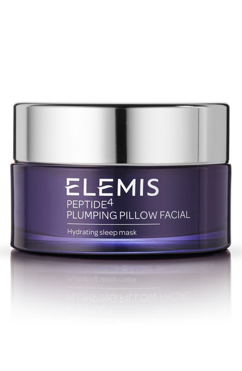 ELEMIS Peptide4 Plumping Pillow Facial Hydrating Sleep Mask, Main, color, 000