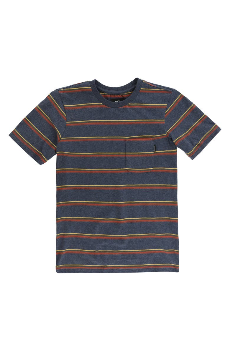 O'NEILL Goathill Stripe Cotton T-Shirt, Main, color, 417