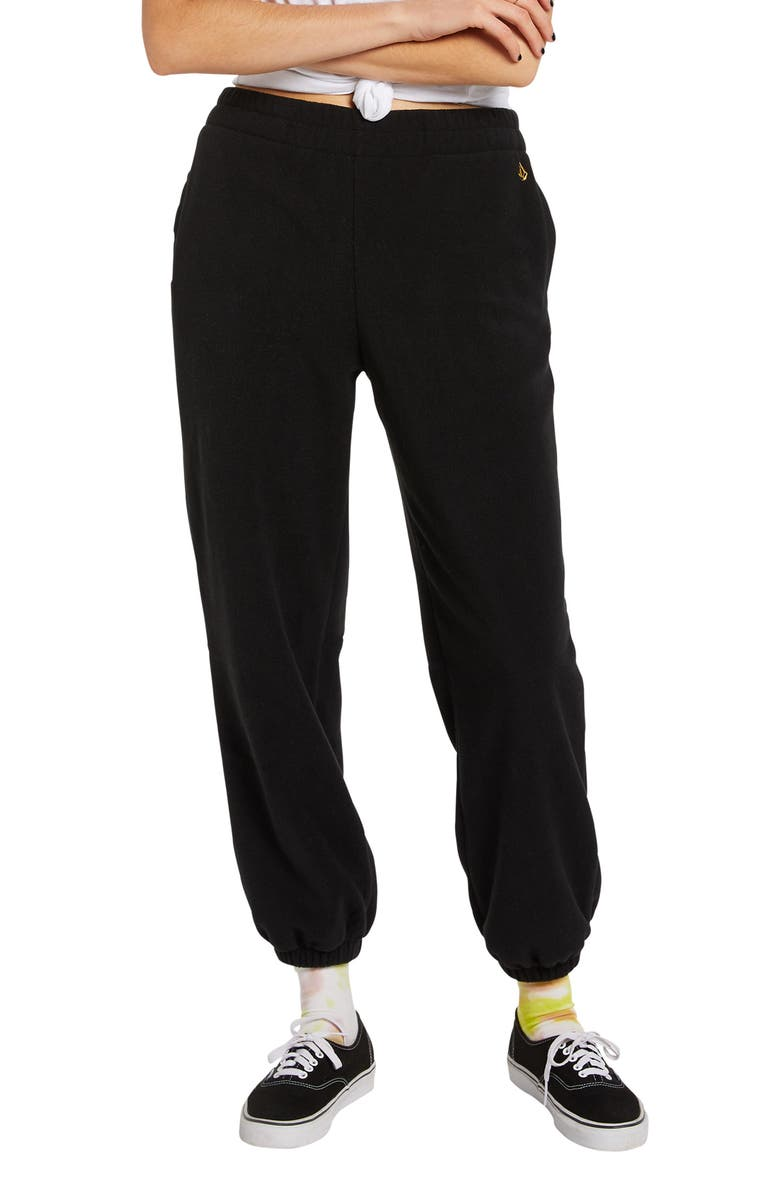 VOLCOM Up in the Nub Pants, Main, color, Black
