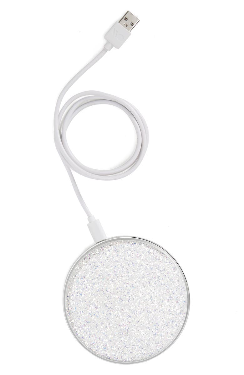 CASE-MATE<SUP>®</SUP> Twinkle Power Disc Wireless Charger, Main, color, TWINKLE
