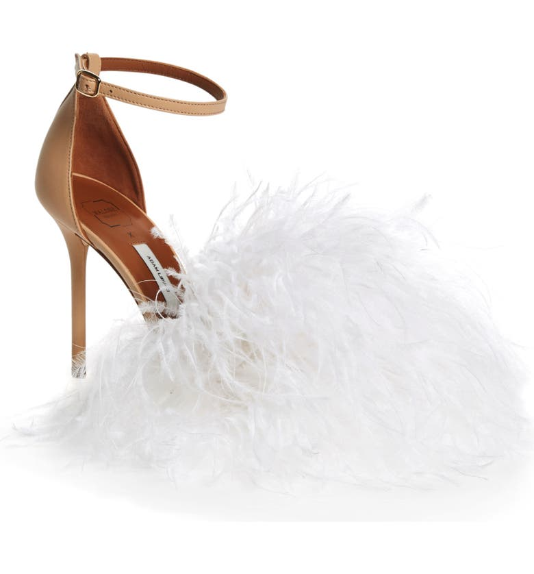 MALONE SOULIERS Nicoletta Feather Sandal, Main, color, 250