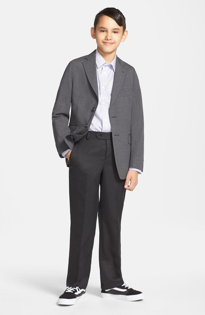 NORDSTROM 'Lucas' Classic Fit Jacket, Main, color, GREY