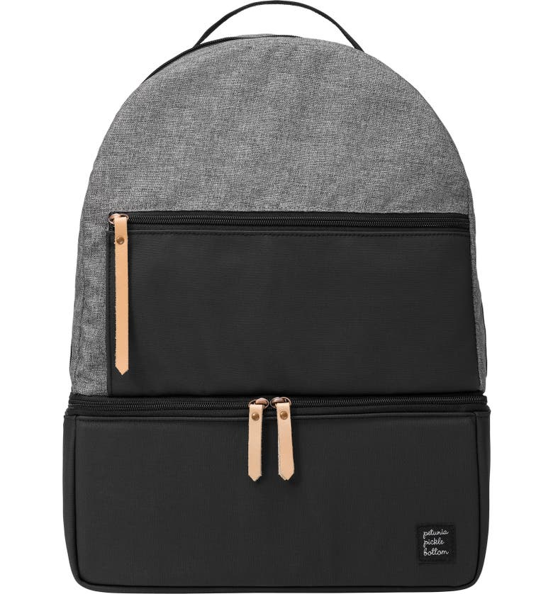 PETUNIA PICKLE BOTTOM Axis Insulated Backpack, Main, color, GRAPHITE/ BLACK