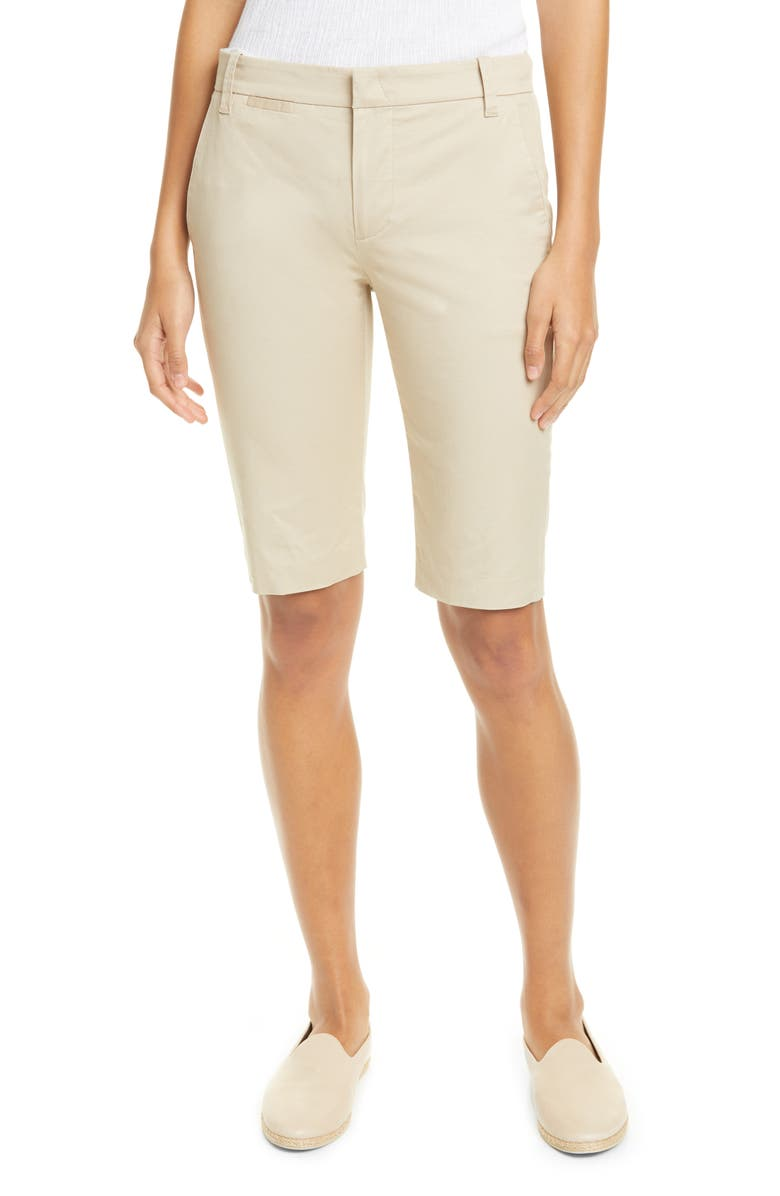 VINCE Bermuda Shorts, Main, color, LATTE