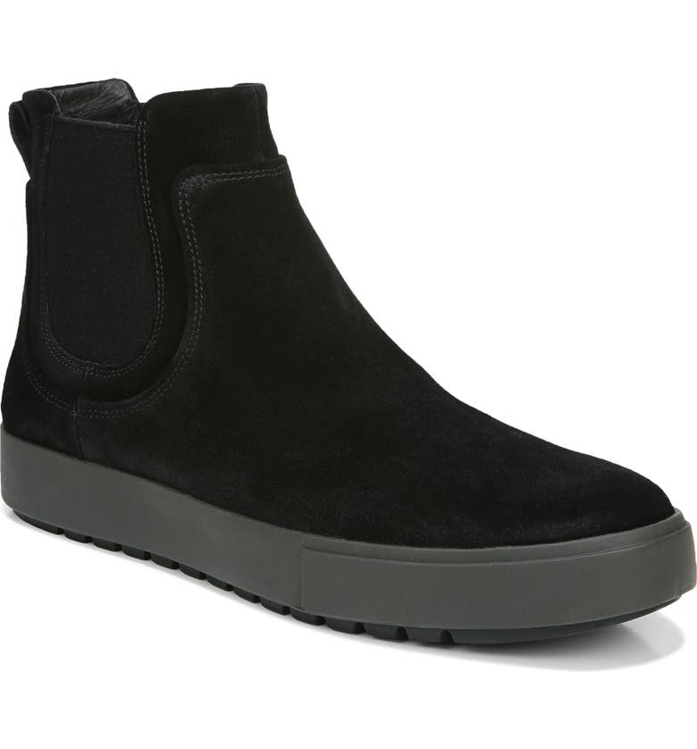 VINCE Lowell Chelsea Boot, Main, color, BLACK