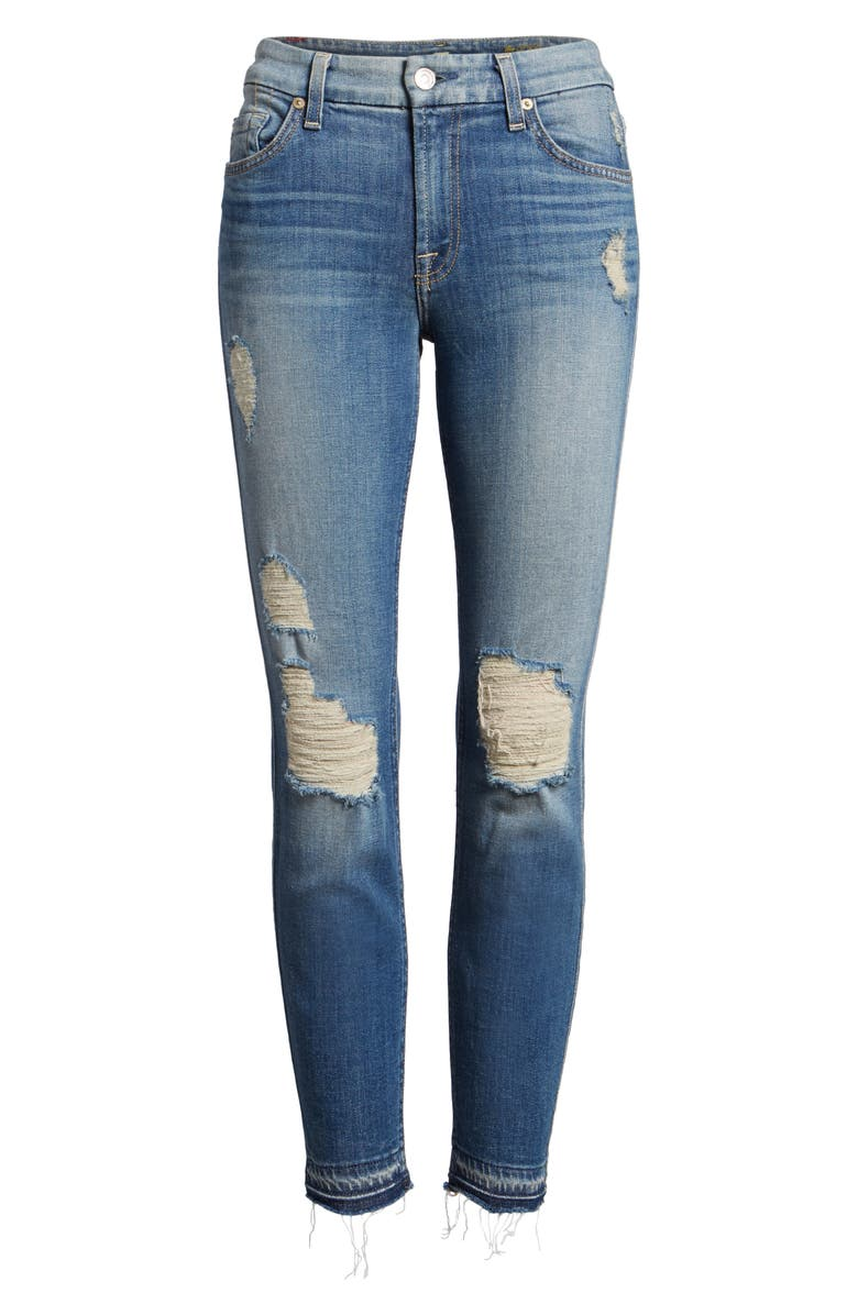7 FOR ALL MANKIND<SUP>®</SUP> 7 For All Mankind Ankle Skinny Jeans, Main, color, 400