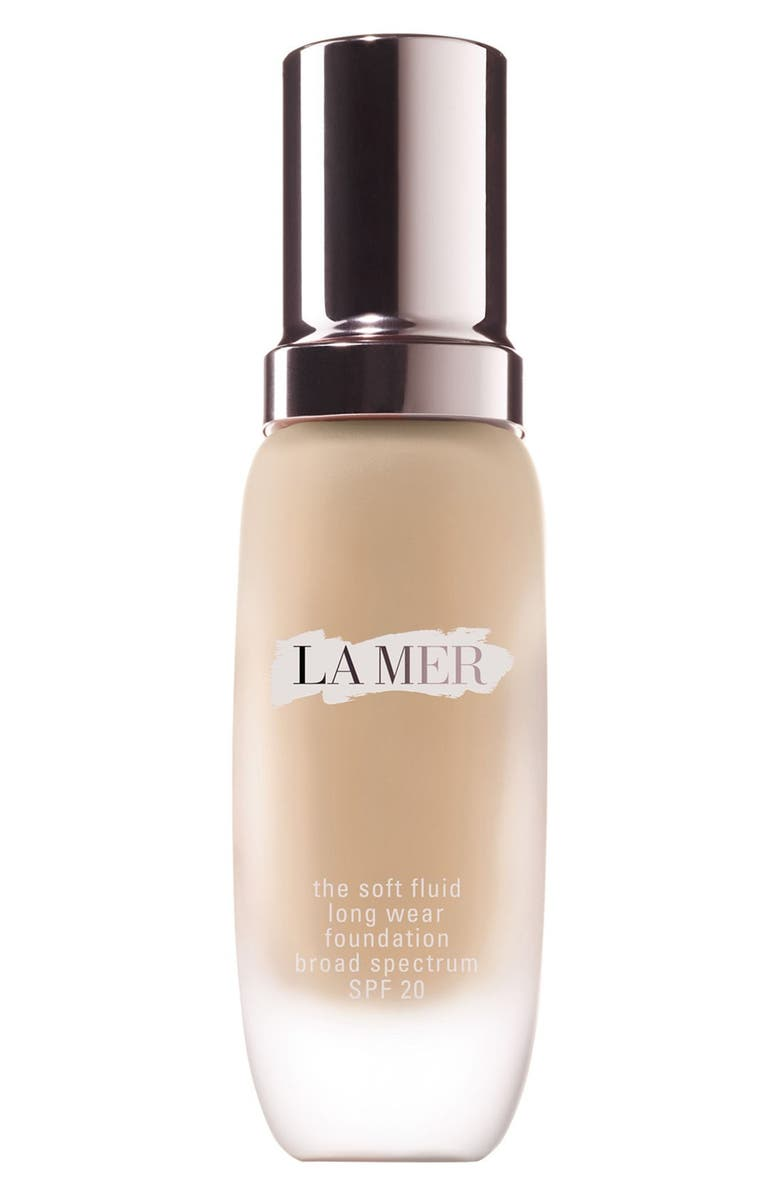 LA MER Soft Fluid Long Wear Foundation SPF 20, Main, color, 01 Porcelain (Light/Cool)