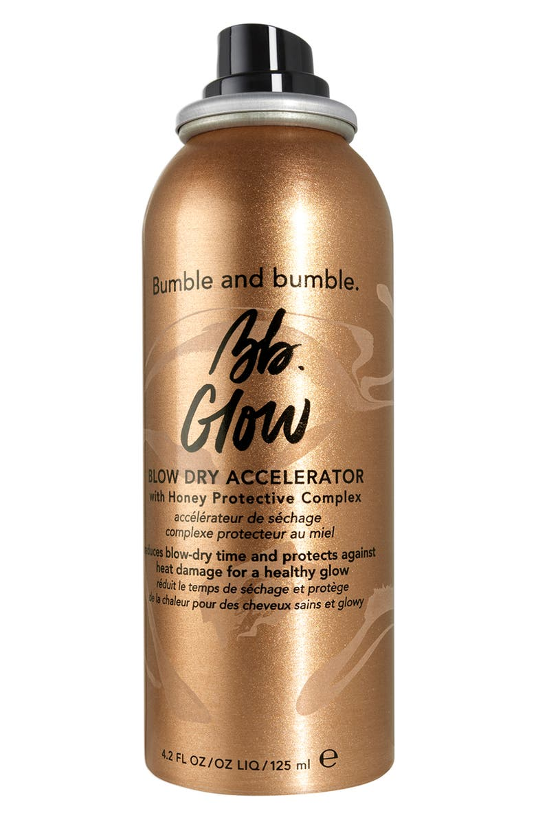 BUMBLE AND BUMBLE. Bumble and bumble Glow Blow Dry Accelerator, Main, color, NO COLOR