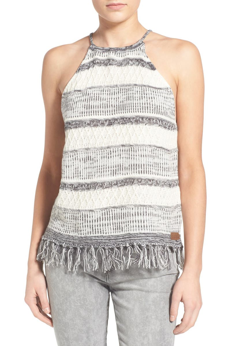 ELEMENT 'Isla' Knit Halter Tank, Main, color, 001