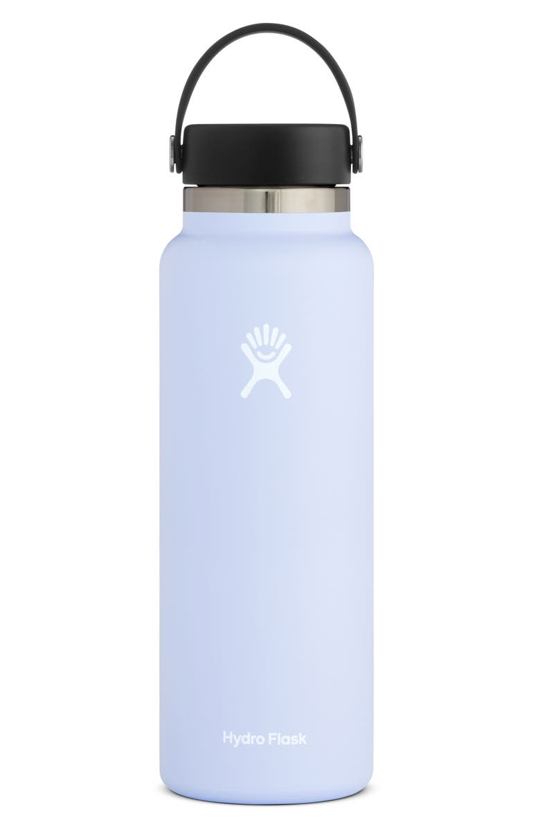 HYDRO FLASK 40-Ounce Wide Mouth Cap Bottle, Main, color, FOG