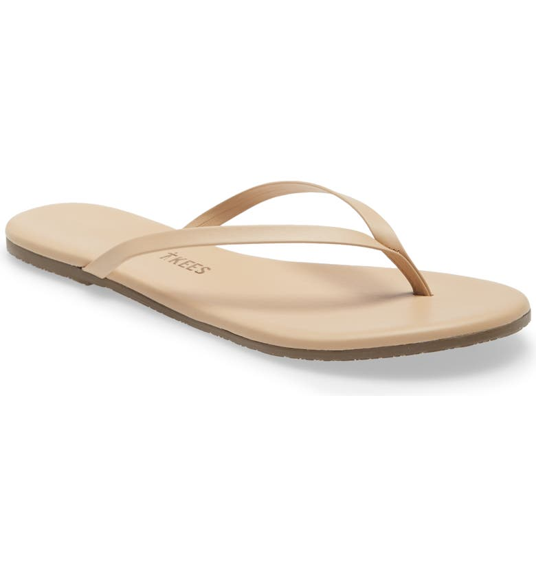 TKEES Foundations Matte Flip Flop, Main, color, SUNKISSED