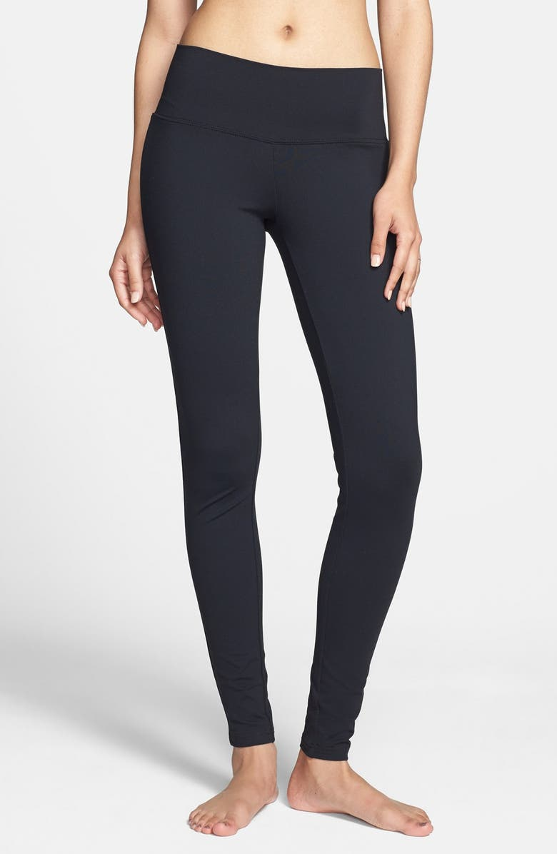 BP. Wide Waistband Essential Leggings, Main, color, 001