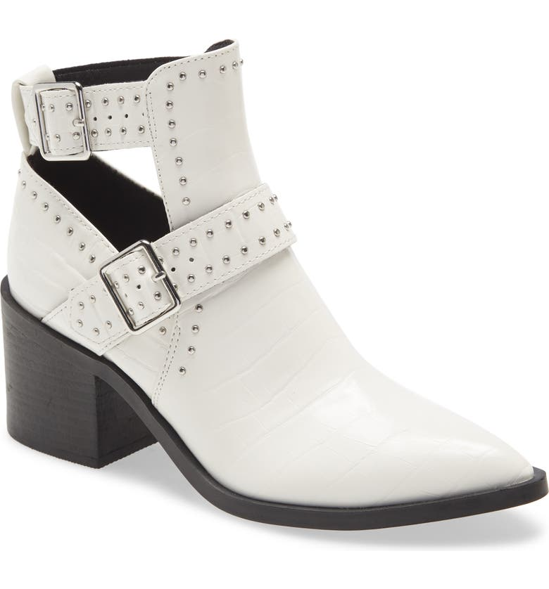 STEVE MADDEN Andy Bootie, Main, color, WHITE CROCODILE