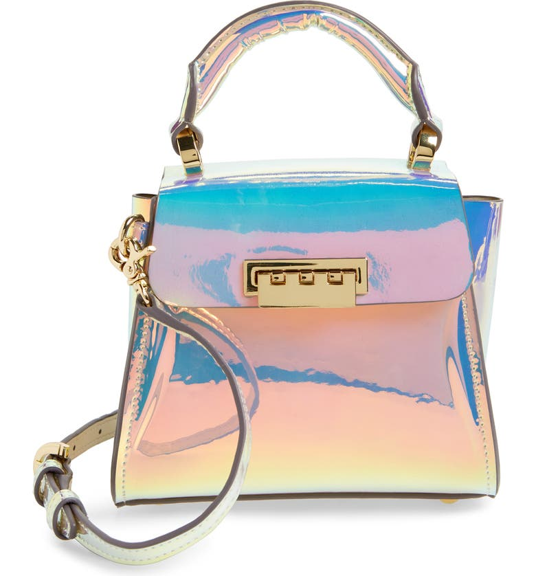 ZAC ZAC POSEN Eartha Iconic Iridescent Top Handle Mini Satchel, Main, color, 040
