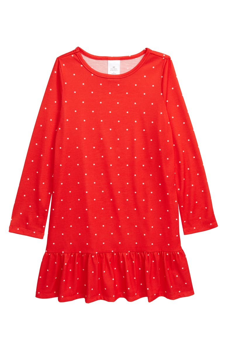 RACHEL PARCELL Ruffle Nightgown, Main, color, 610