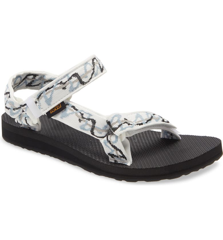 TEVA Original Universal Sandal, Main, color, ZIGGY WHITE