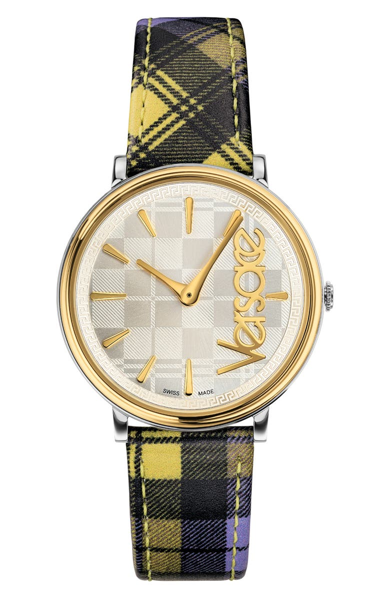 VERSACE Women's V-Circle The Clans Edition Watch, 38mm, Main, color, 001