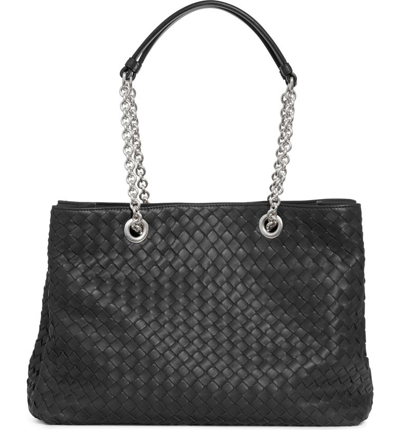 BOTTEGA VENETA Small Intrecciato Leather Hobo, Main, color, 004