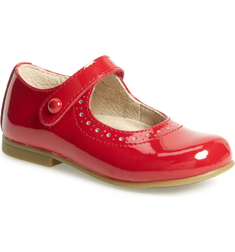 FOOTMATES Emma Mary Jane, Main, color, RED PATENT