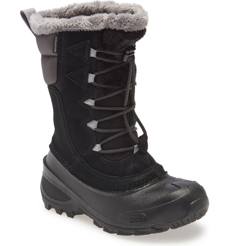 THE NORTH FACE Shellista IV Waterproof Insulated Boot, Main, color, BLACK/ GREY