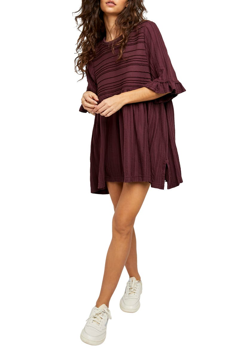 FREE PEOPLE Take a Spin Tunic, Main, color, BLACK HONEY