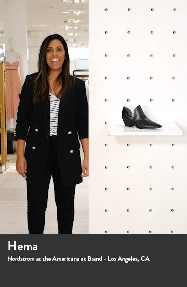 Parson Studded Pointed Toe Bootie, sales video thumbnail
