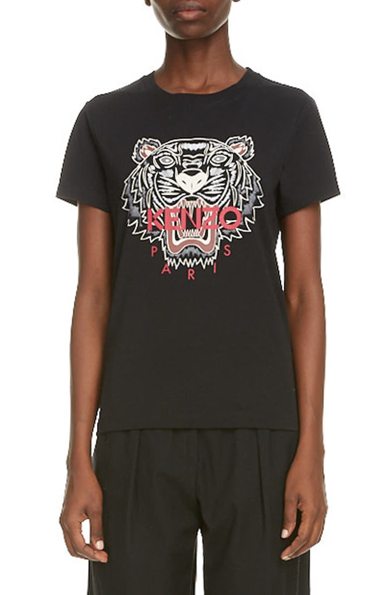 KENZO Classic Tiger Graphic Tee, Main, color, 001